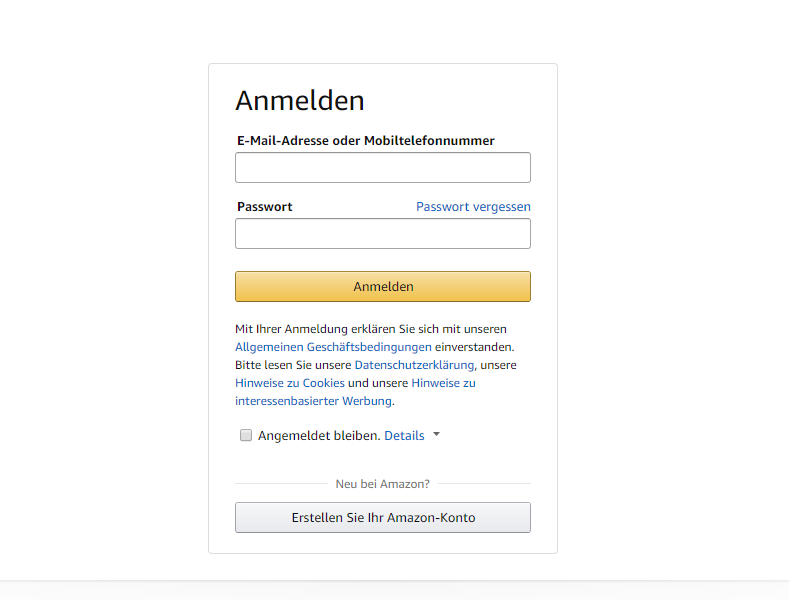 Amazon Music Unlimited Login zum Probeabo